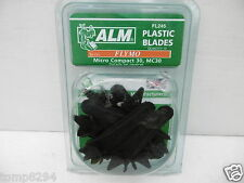 ALM PACK OF10 PLASTIC FLYMO MOWER BLADES MICRO COMPACT MC30 FL245