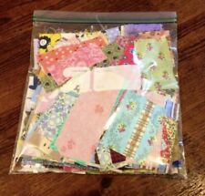 LOT SCRAP BAG of NEW Quilting Fabric from Premium Designers 100%Cotton