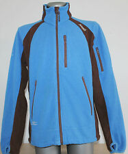 BERGANS OF NORWAY Jacket Brown/Blue Jacket Poliester Outdoor Hikking Size M