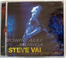 STEVE VAI - ALIVE IN AN ULTRA WORLD - Double CD Sigillato