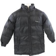 Kani Gold Womens Ladies Black Double Zipper Zip Up Puffer Jacket Coat Size 7