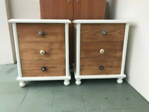 Shabby Chic - Bedside drawers x 2