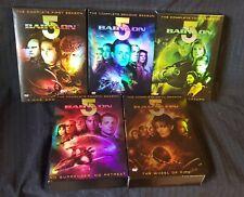 Babylon 5: The Complete Series Seasons 1-5 DVD set