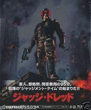 New Judge Dredd First Limited Blu-ray Steel book ASBD-1078 Japan Free Shipping