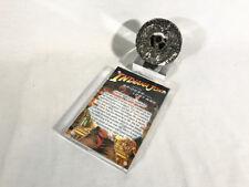 Indiana Jones, Toht RA Headpiece, Acrylic  Display Plaque and Jungle Stand