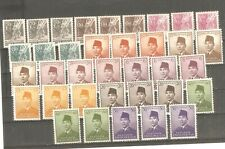 Indonesia - 1951. President Sukarno, different stamps, MNH