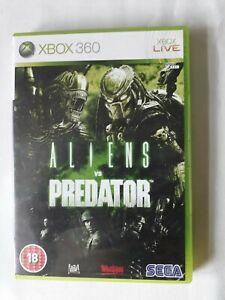 Aliens Vs Predator for Microsoft xbox 360 By SEGA complete FREE SHIPPING