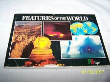 Brooke Bond / PG Tips Picture Cards Album ~ Features of the World ~ complete