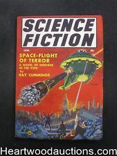 Science Fiction Jan 1941  Frank  Paul cover Ray Cummings - Ultra High Grade