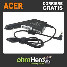 Carica Batteria Alimentatore Auto per Acer Aspire 1410, Aspire 1410T,