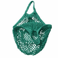 Travel Portable Reusable String eco Shopping trolley Bag Grocery Tote Fruit Bags