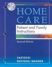 Home Care: Patient and Family Instructions Book with CD-ROM