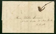 Liberia 1847 missionary cover from Setta Kroo