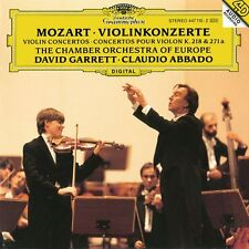 "DAVID GARRETT ""MOZART VIOLIN KONZERT 7,4..."" CD NEU"