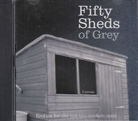 Fifty Sheds of Grey A Parody CD Audio Book Erotica Not Too Modern Male Humour