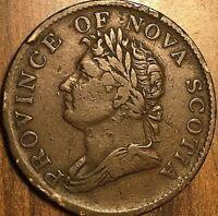 1832 NOVA SCOTIA HALF PENNY TOKEN