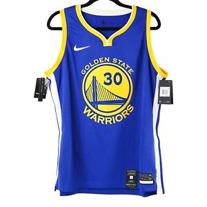 Nike Dry NBA Golden State Warriors Steph Curry Jersey Womens Sz 2XL Slim Fit NWT