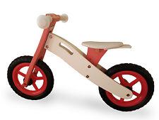 Niños De Madera Balance Correr Bicicleta ciclo de capacitación primero Niñas Rosa