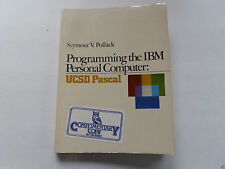 "ITHistory (1983) Book: ""PROGRAMMING THE IBM PC - UCSD PASCAL"" (POLLACK) Q"