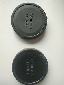 Two Used Tamron EF-S Rear Lens Caps for Canon lenses EOS B01207