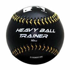 Franklin MLB Heavy Ball Trainer Weighted Baseball Black 10oz for Train