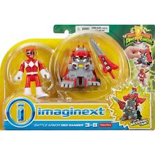 Imaginext Power Rangers Battle Armour Red Ranger *BRAND NEW*