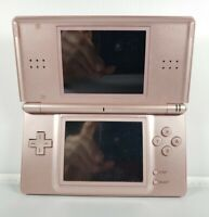 Nintendo DS Lite Coral Pink (Console Only) For Parts or Repair As Is
