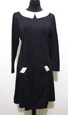 CULT VINTAGE '70 Abito Vestito Donna Optical Jersey Woman Dress Sz.S - 40