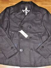 Men's Diesel Black Flying Cougar W-Sami Wool Jacket Sz XL NWT!