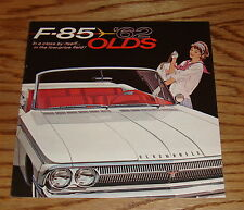 Original 1962 Oldsmobile F-85 Sales Brochure 62