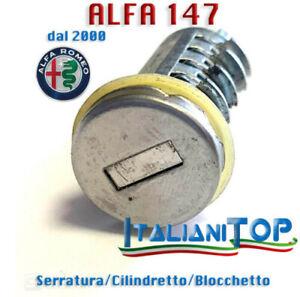 CILINDRETTO SERRATURA BLOCCHETTO ALFA ROMEO ALFA 147 DALL'ANNO 2000 - PROD NUOVO