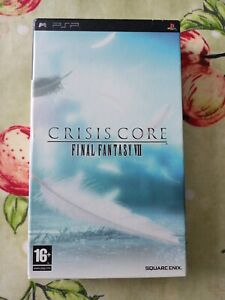 Crisis Core: Final Fantasy VII 7 (Sony PSP, 2008) Collectors Edition With Book