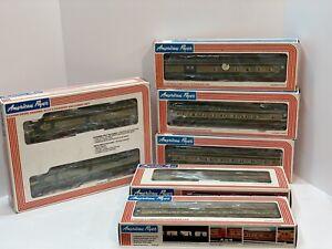 American Flyer Erie Passenger Train Set