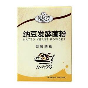 Active Natto Powders StarterCultures For Health Bacillus S0R3 Subtilis 10g O1Z6