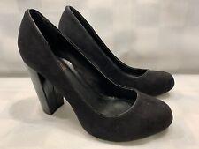 VICTOR ALFARO High Heels Black Women's Shoes Size 6 B (36)