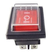 1 Stück Rocker Schalter Rot DPDT EIN AUS 6 PIN 16A  250V 20A 125V AC KCD4