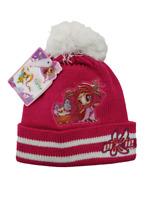 Cappello bambina WINX cuffia beanie berretto pon-pon inverno caldo maglia rosa