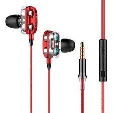 3.5mm Auriculares Con Cable, Con Audifonos Oído en computadora Gamer Para Iphone Samsung con MICRÓFONO