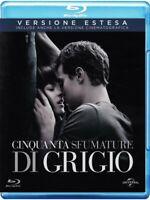 Cinquanta Sfumature Di Grigio - Versione Estesa - Blu Ray Nuovo Sigillato