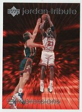 Michael Jordan 97 UD TRIBUTE IMPRESSIONS EYE POPPING Offensive Player Card #MJ45