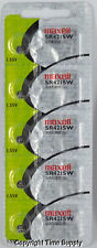 0%Mercury Battery ( 5 Pc ) Maxell 348 Sr421Sw V348 Sb-A6 Sr421280-77