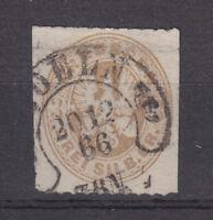 Hufeisenstempel - COELN [SPALINK 4-6] 20 12 66 7-8 auf Preussen Mi. 18, 3 Sgr. !
