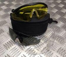 Genuine NATO Army Issue Revision Sawfly Ballistic Protective Glasses Black COMP