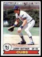 1979 Topps Set Break Mint Larry Biittner Chicago Cubs #433
