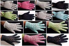 Handschuhe Damen gehäkelt.Handarbeit.Zierliche.Elegante.Moderne.Perlweiss.