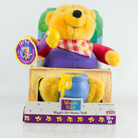 Vintage Fisher Price Winnie The Pooh ~ Wigglin For Honey Interactive Toy ~ Boxed