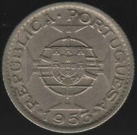 1953 Angola 2 1/2 Escudos Coin | World Coins | Pennies2Pounds