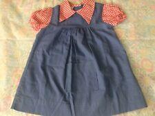 Vtg Sears Collar Dress Toddler Girl 5T