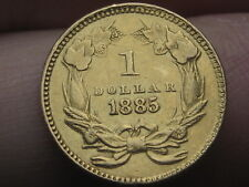 1885 $1 Gold Indian Princess One Dollar Coin- Very Rare