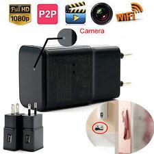 2017 New 16GB 1080P Mini WIFI IP SPY Hidden Wall Charger Camera Adapter Plug Cam